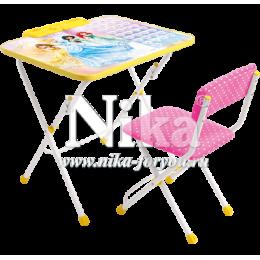 Комплект детской мебели Ника Принцессы Д3П