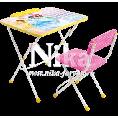 Комплект детской мебели Ника Принцессы Д3П - мой малыш
