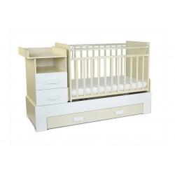 Детская  кроватка СКВ 830039-1 /витрина/