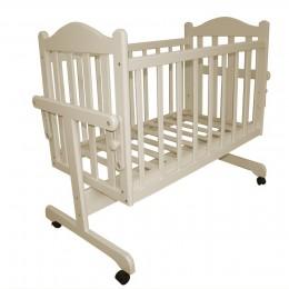 Детская кроватка Мой Малыш КОЛЫБЕЛЬ слоновая кость