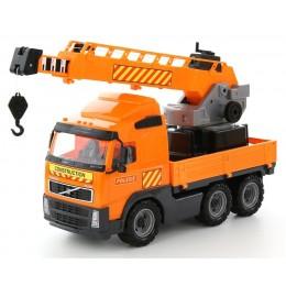 """""""Volvo"""", автомобиль-кран с поворотной платформой"""