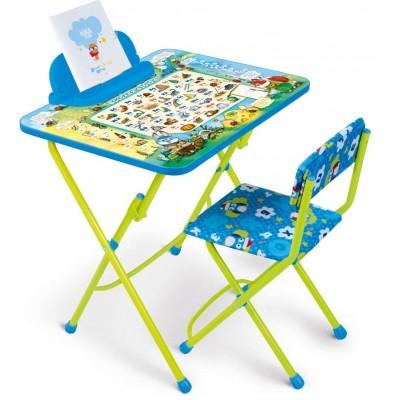 """Комплект """"Веселая азбука """" (стол+пенал+стул мягкий)    NEW! - мой малыш"""