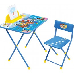 """Комплект  """"Щенячий патруль"""" модель Щ1 (стол + стул мягк. моющийся + пенал) NEW!"""