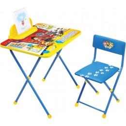 """Комплект """"Щенячий патруль"""" модель Щ2 (стол + стул мягк. моющийся + пенал) NEW!"""