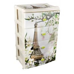 """Комод широкий  """"Весна в Париже"""""""
