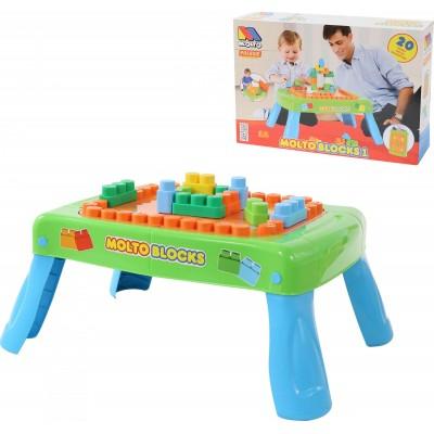 Набор игровой с конструктором (20 элементов) - мой малыш