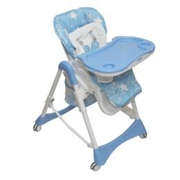 Стул-стол для кормления NANA голубой