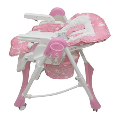 Стул-стол для кормления NANA розовый - мой малыш