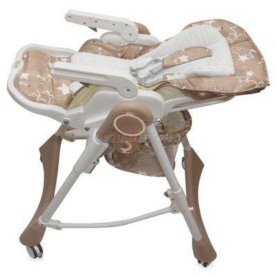 Стул-стол для кормления NANA коричневый - мой малыш