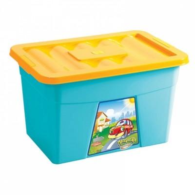 Ящик для игрушек ПЛАСТИШКА - мой малыш