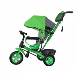 Детский велосипед с ручкой GalaXy Виват 1 зеленый