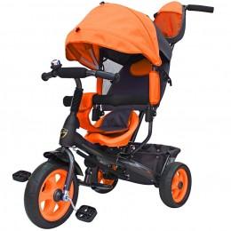 Детский велосипед с ручкой GalaXy Виват 1 оранжевый