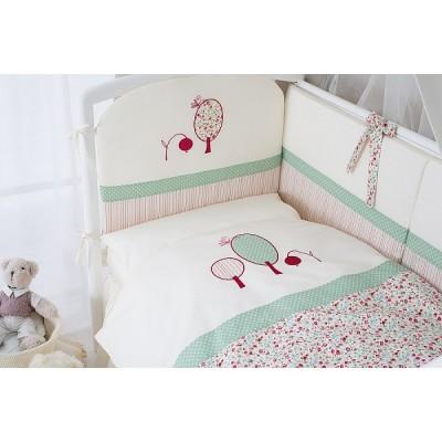 """Комплект в детскую кроватку 6пр. """"Клюковка"""" - мой малыш"""