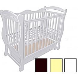 Детская кроватка Адель, темная