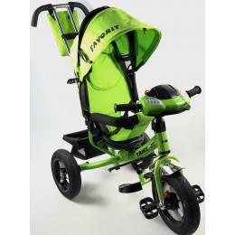 Велосипед детский FAVORIT TRIKE RALLY зеленый