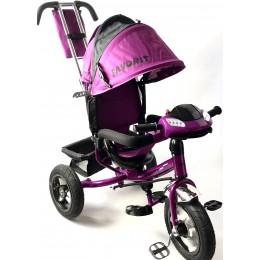 Велосипед детский FAVORIT TRIKE RALLY фиолет
