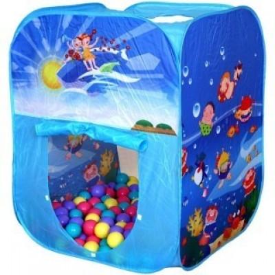 Дом с шарами ОКЕАН + 100 шаров - мой малыш