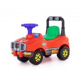 Автомобиль Джип-каталка (красный)