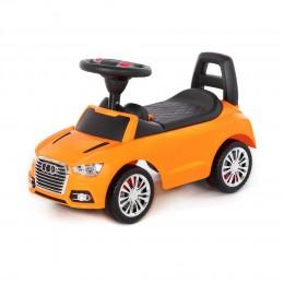 """Каталка-автомобиль """"SuperCar"""" №2 со звуковым сигналом (оранжевая)"""