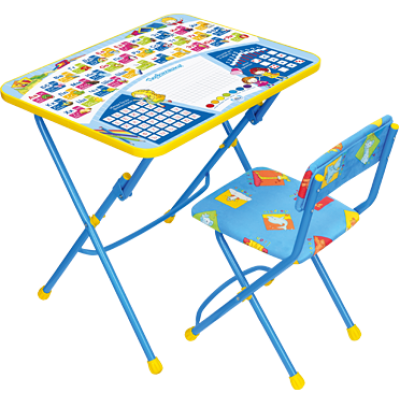 Комплект мебели Ника ку1 Первоклашка на синем фоне - мой малыш