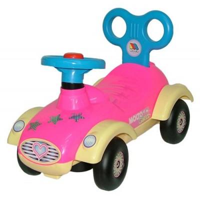 Машинка-каталка Полесье для девочек - Сабрина - мой малыш